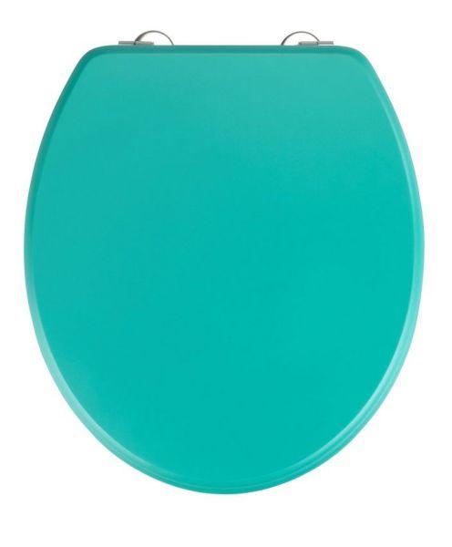 PRIMA Grün Matt WC-Sitz mit Edelstahlscharnieren