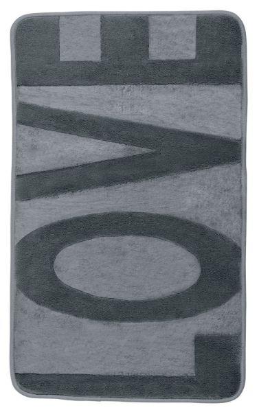 LOVE MouseGrey Badteppich, 50x80 cm