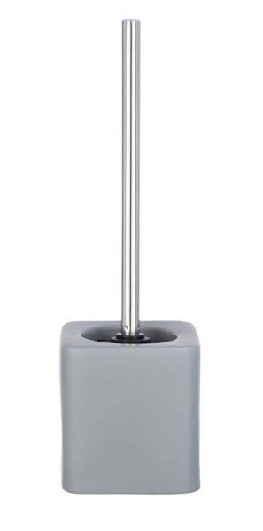 HEXA grau WC-Garnitur, Bürstenkopf aus Silikon