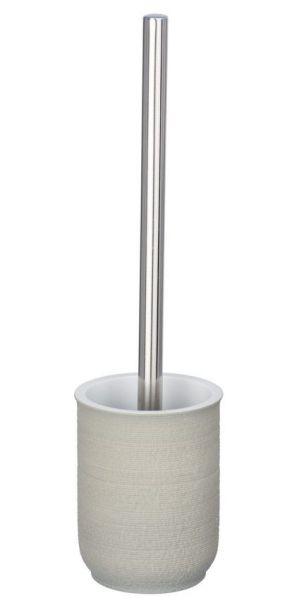 NEBO grau WC-Garnitur, Bürstenkopf aus Silikon