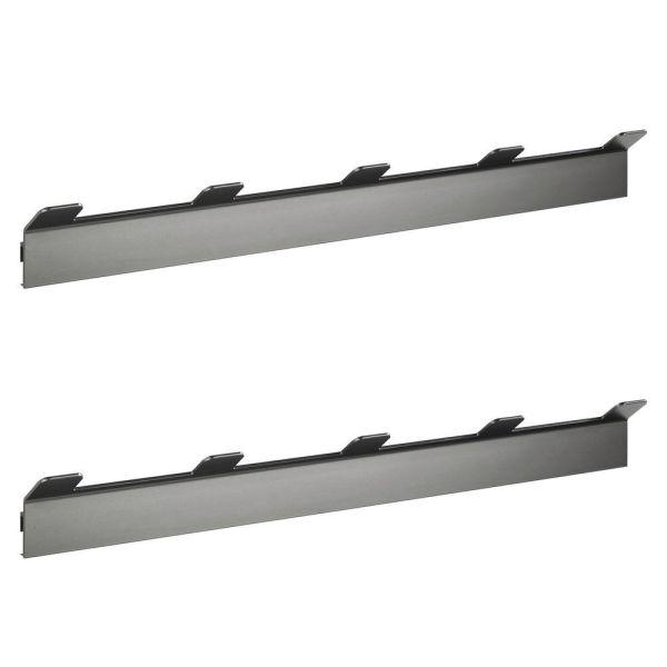 MONTELLA Hakenleiste aus Aluminium, 2er-Set