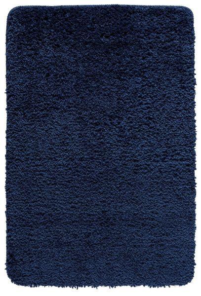 BELIZE Marine Blue Badteppich, 60x90 cm, fusselfrei