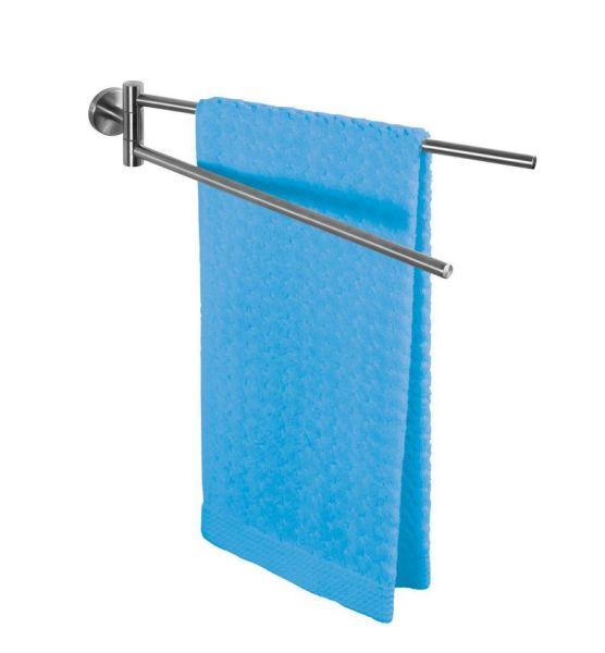 BOSIO matt Handtuchhalter aus Edelstahl