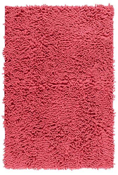 CHENILLE Coral Badteppich, 50x80 cm, samtweich