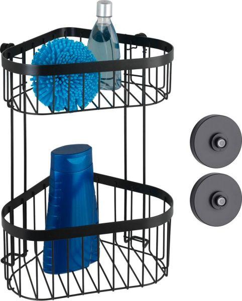 CLASSIC Plus Black Vacuum-Loc® Eckregal