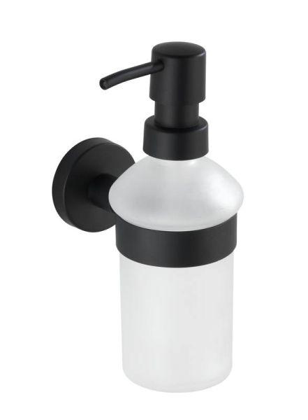 BOSIO Black matt Seifenspender 200 ml