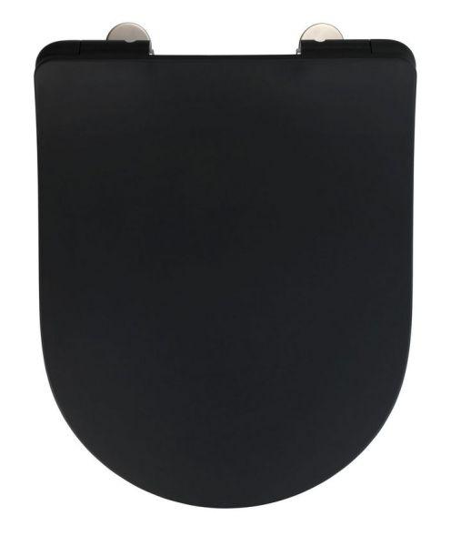 SEDILO matt schwarz Premium WC-Sitz, Soft-Close
