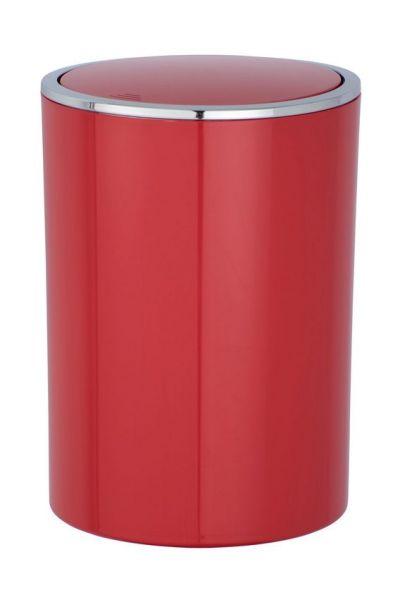 INCA Red Schwingdeckeleimer, 5 Liter
