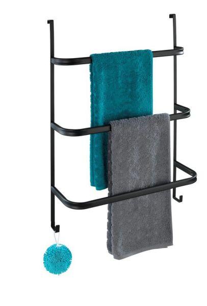 IRPINIA schwarz Handtuchhalter zum Hängen