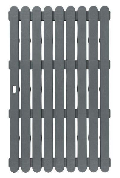 INDOOR & OUTDOOR grau Badematte, 50x80 cm