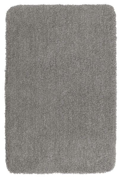 MELANGE Light Grey Badteppich, 70x120 cm, fusselfrei