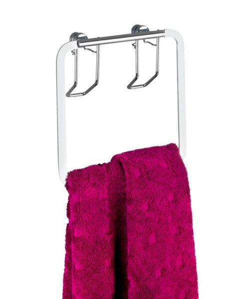 PREMIUM Handtuchring aus Edelstahl