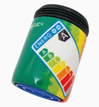 Strahlregler Energie Etikette A von AquaClic