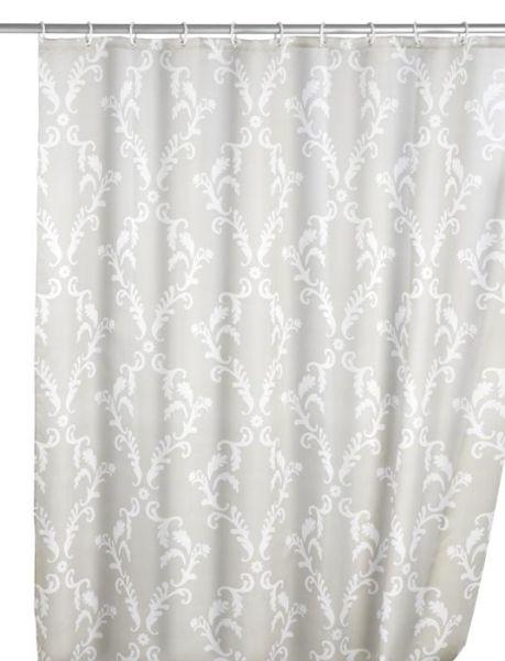 Edel wirkender Duschvorhang mit Barock-Muster