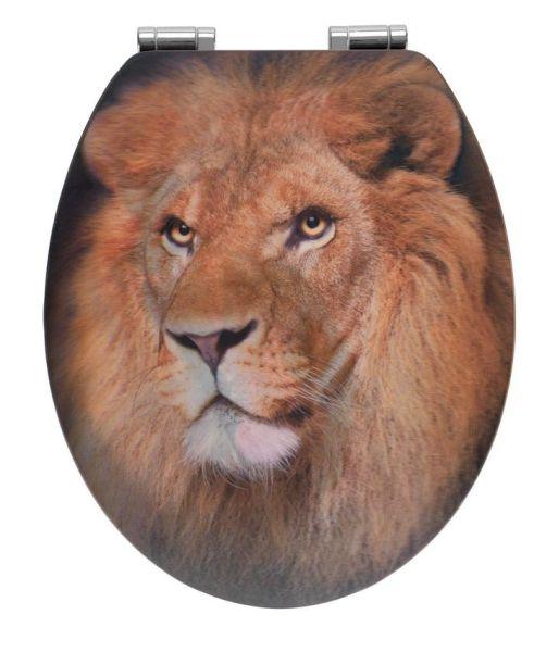 LION WC-Sitz mit 3D-Effekt und Absenkautomatik
