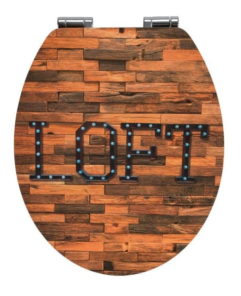 LOFT Premium WC-Sitz mit Absenkautomatik