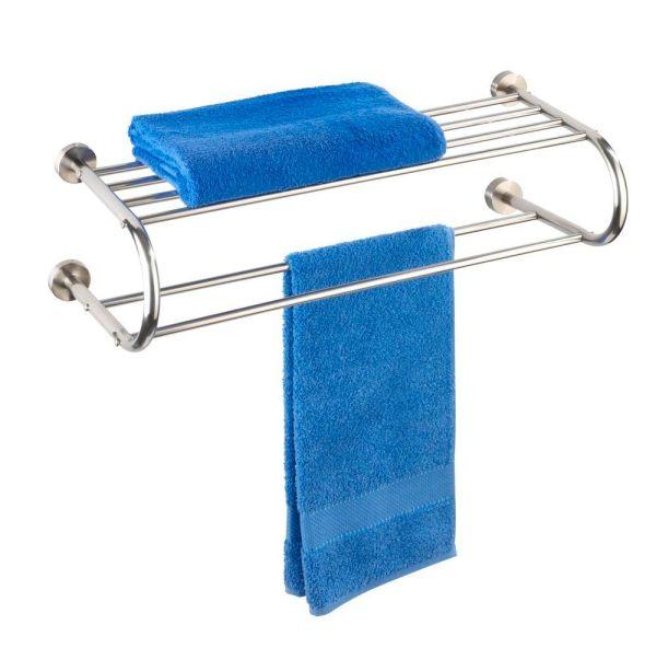 FASTRO Wandregal mit Handtuchhalter