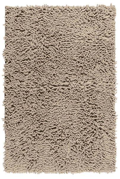 CHENILLE Sand Badteppich, 50x80 cm, samtweich