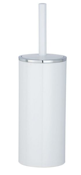 INCA white WC-Garnitur, Bürstenkopf aus Silikon