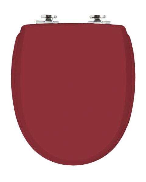 WC-Sitz KAN 3001 Exclusive in purpurrot mit Absenkautomatik