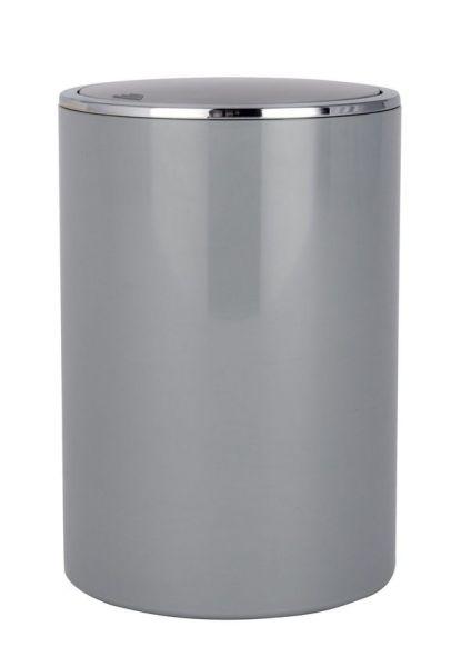 INCA grey Schwingdeckeleimer, 5 Liter
