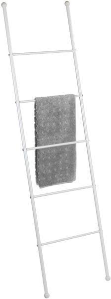 VIVA Handtuchleiter aus weißem Stahl