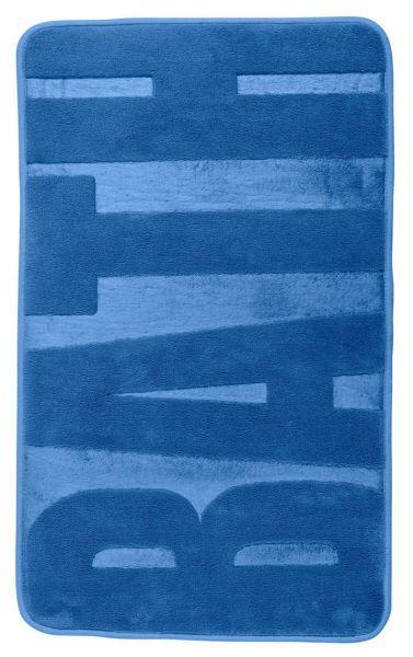 BATH Fjord Blue Badteppich, 50x80cm, Memory-Schaum
