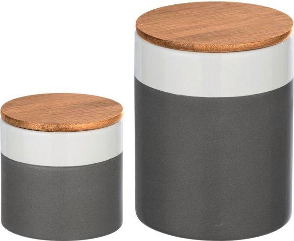 MALTA Universaldosen aus Keramik, 2er-Set