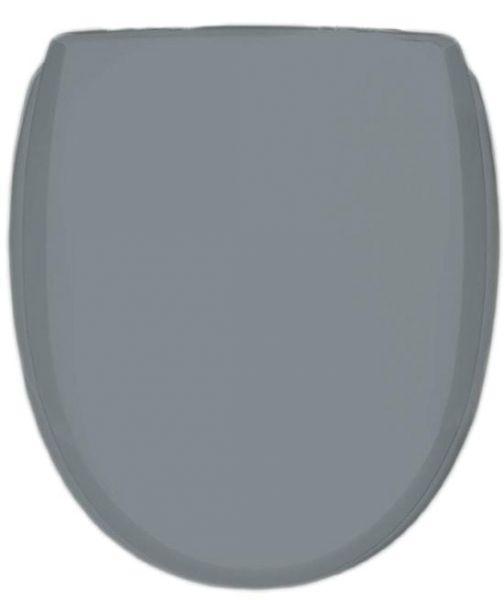 WC-Sitz KAN 3001 Classic in shadow mit Kunststoff-Scharnieren