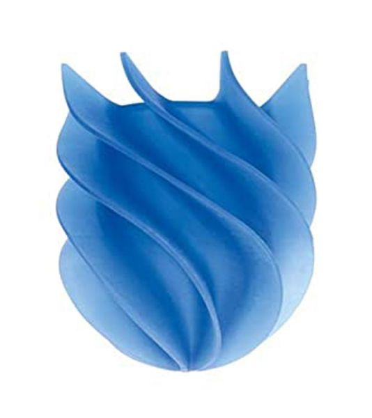 Bürstenkopf Waterclou blau Ø 8 cm aus Silikon