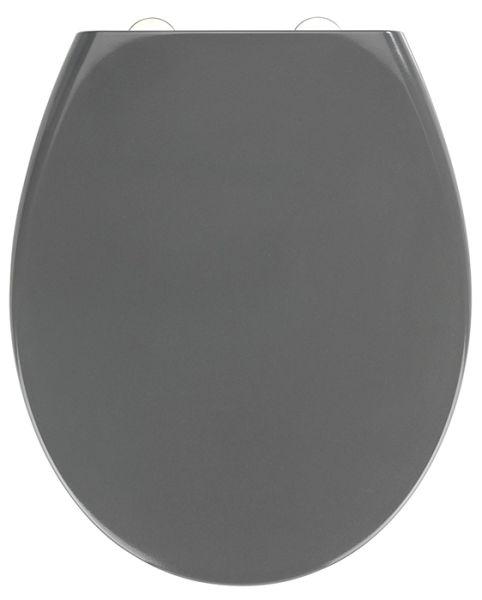 WC-Sitz SAMOS in grau von Wenko mit Absenkautomatik