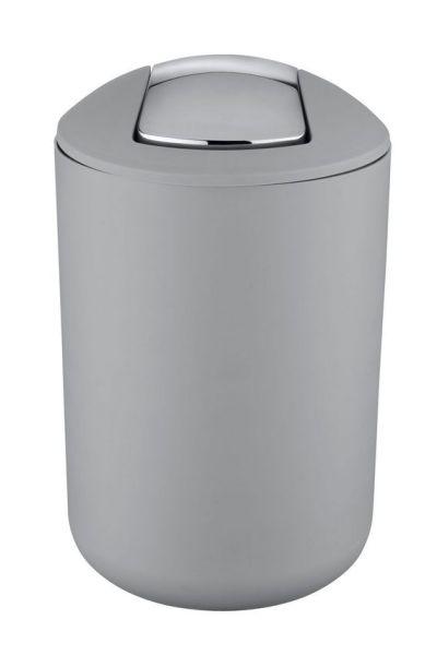 BRASIL Grau L Schwingdeckeleimer, 6,5 Liter