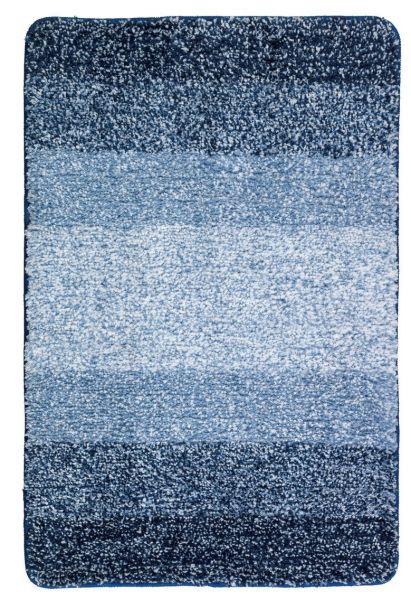 LUSO blau Badteppich, 60x90cm, schnelltrocknend
